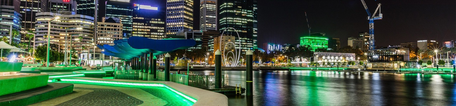 elizabeth quay in perth