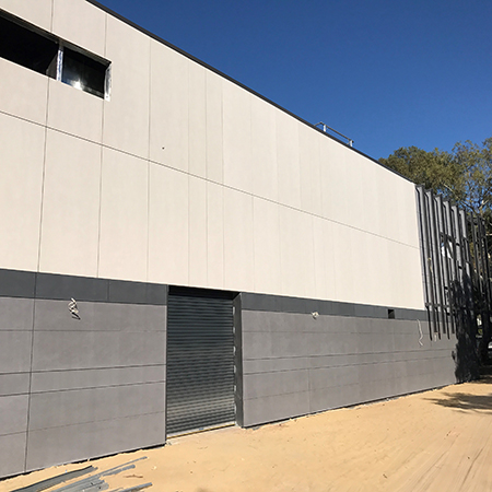 cladding at fremantle college