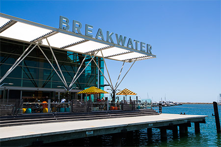 breakwater renovation in perth