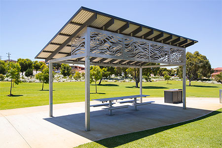 Charles Riley Memorial Reserve shelter