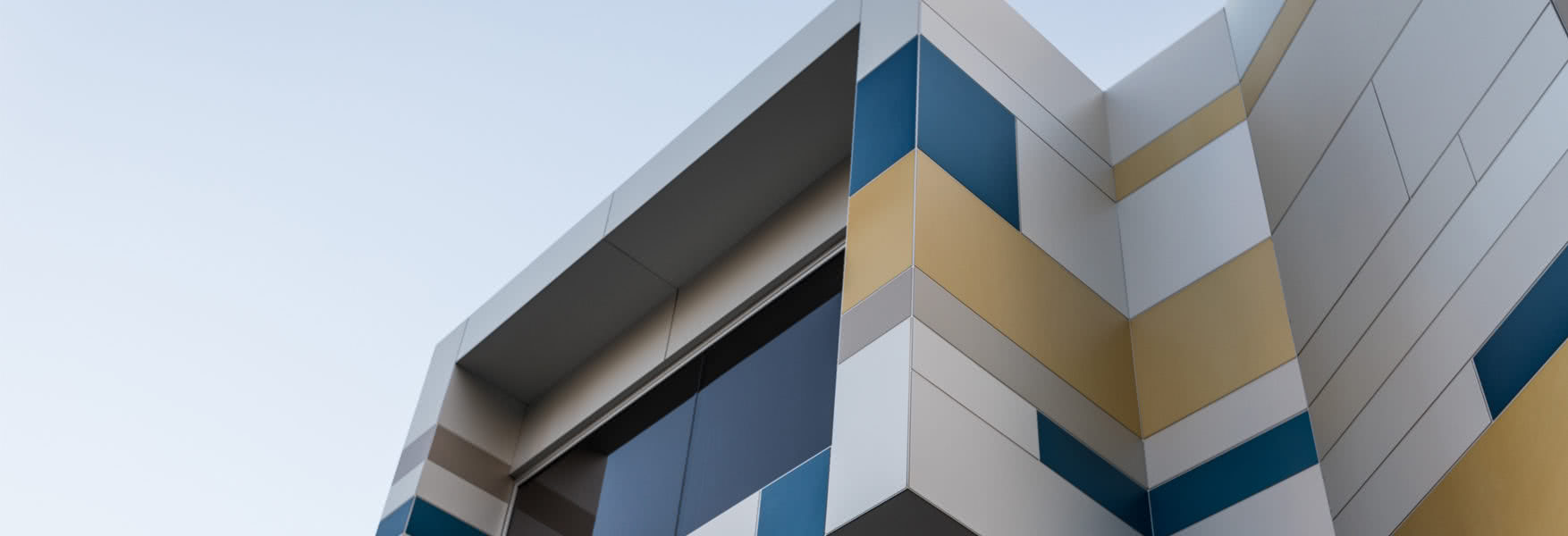 external cladding work completed by denmac