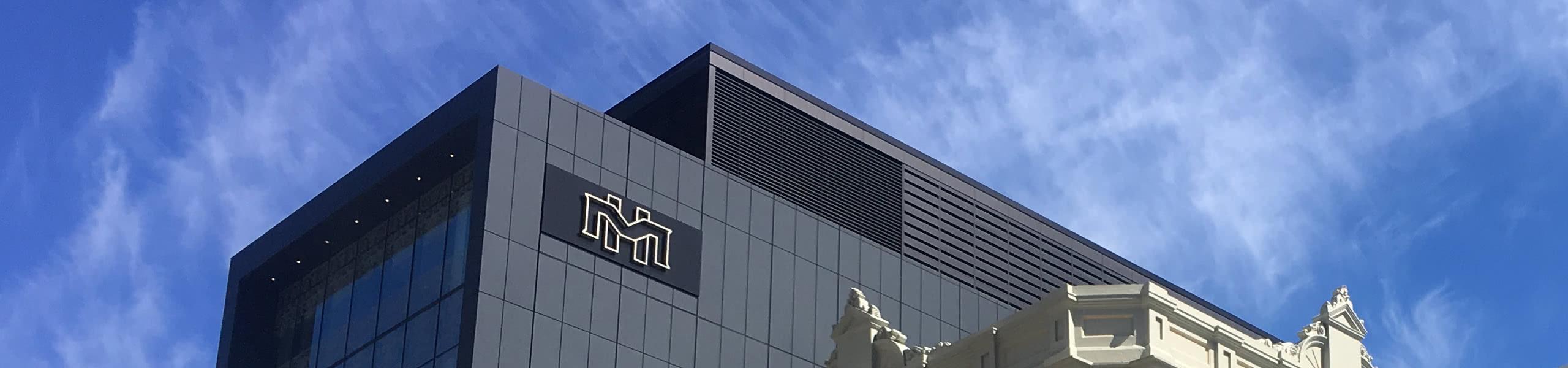 melbourne hotel Aluminium panels