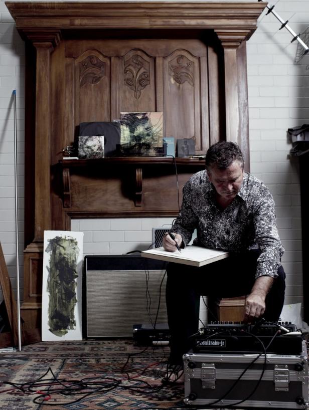 Perth-based visual artist, Jon Tarry