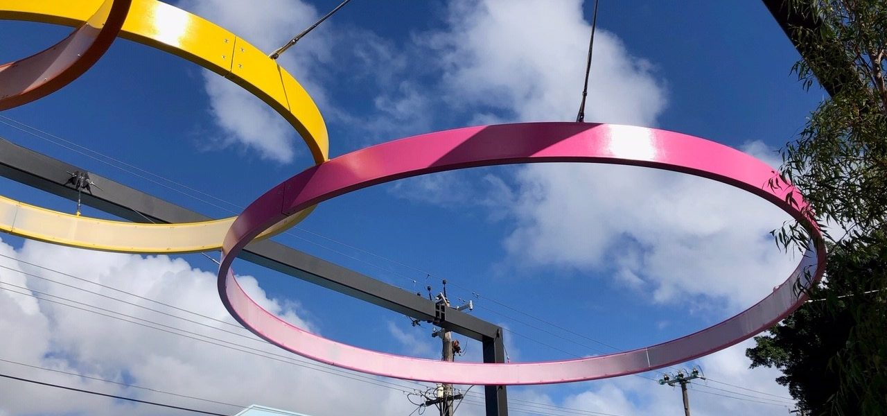 DENMAC rings at the North Perth Common Piazza