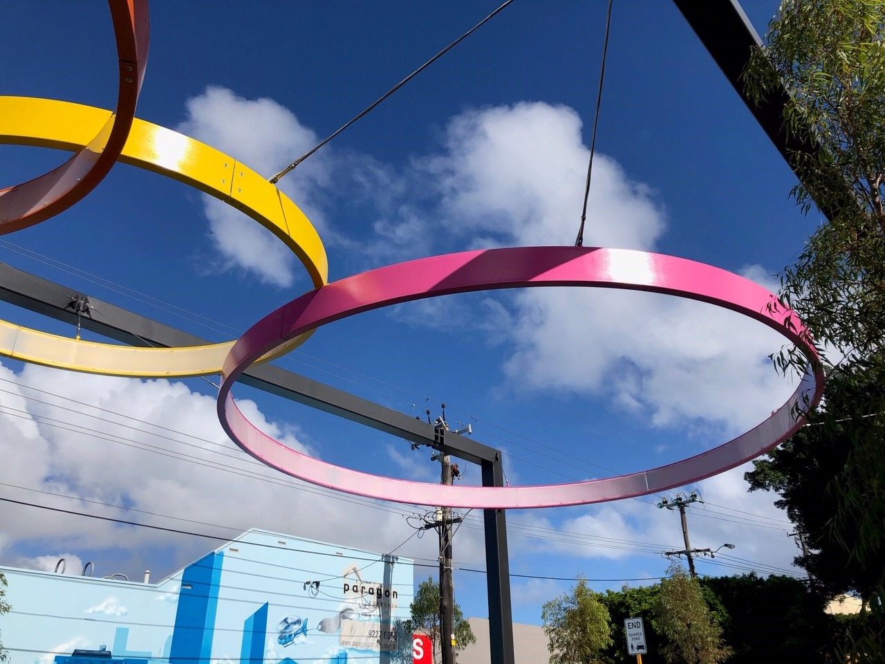 DENMAC rings at the North Perth Common Piazza